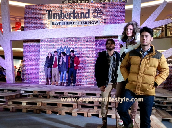 Timberland Fashion Show in Malaysia